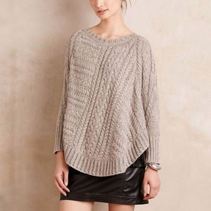 Anthropologie King of the North poncho